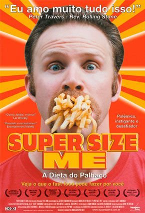 Capa do filme 'Super Size Me'