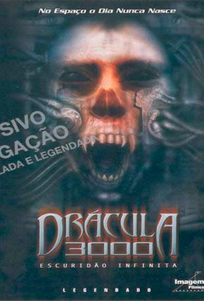 Capa do filme 'Drácula 3000'