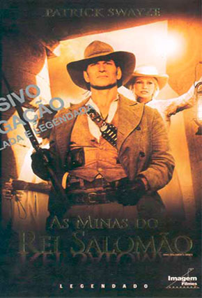 Capa do filme 'As Minas do Rei Salomão'