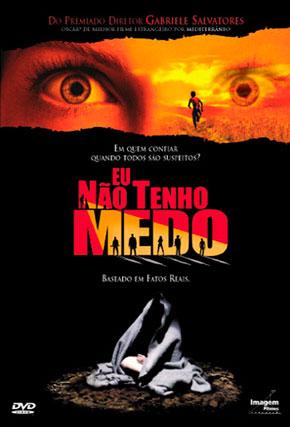 Capa do filme 'Eu Não Tenho Medo'
