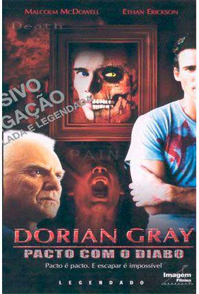 Capa do filme 'Dorian Gray - Pacto Com o Diabo'