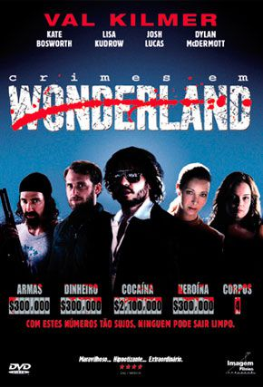 Capa do filme 'Crimes em Wonderland'