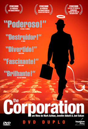 Capa do filme 'The Corporation'
