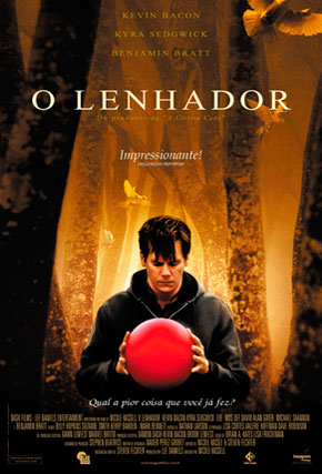 Capa do filme 'O Lenhador'