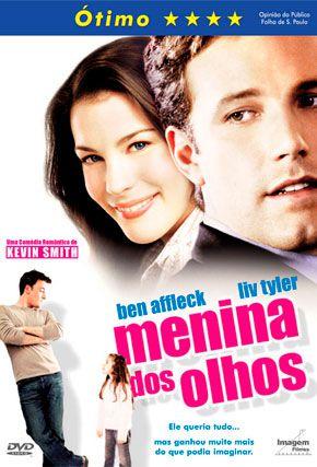 Capa do filme 'Menina dos Olhos'