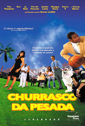 Capa do filme 'Churrasco da Pesada'