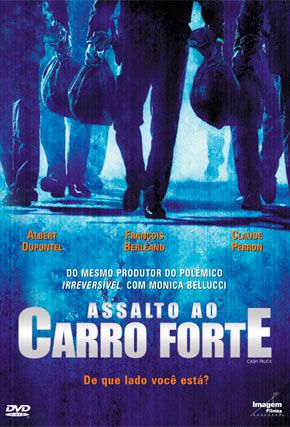 Capa do filme 'Assalto ao Carro Forte'
