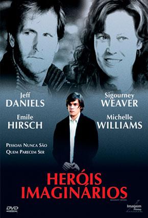 Capa do filme 'Heróis Imaginários'