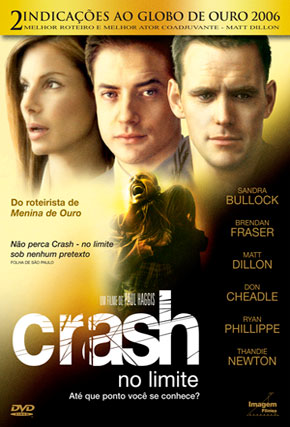 Capa do filme 'Crash - No Limite'