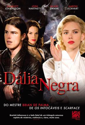 Capa do filme 'Dália Negra'