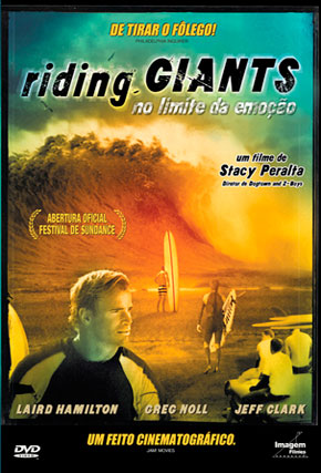 Capa do filme 'Riding Giants - No Limite da Emoção'