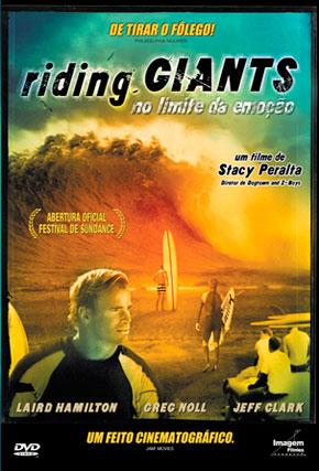 Capa do filme 'Riding Giants - No Limite da Emoção'