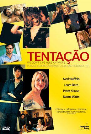 Capa do filme 'Tentação'