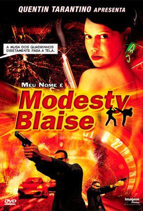 Capa do filme 'Meu Nome é Modesty Blaise'