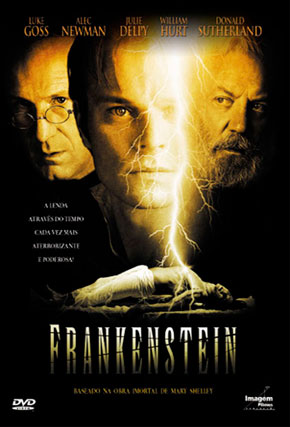 Capa do filme 'Frankenstein'