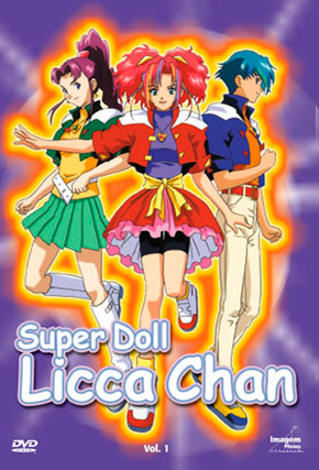 Capa do filme 'Super Doll Licca Chan'