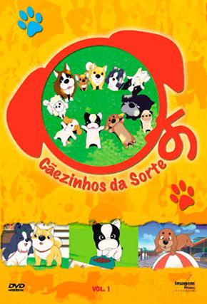 Capa do filme 'Cãezinhos de Sorte'