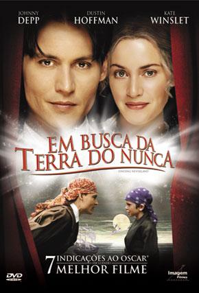 Capa do filme 'Em Busca da Terra do Nunca'