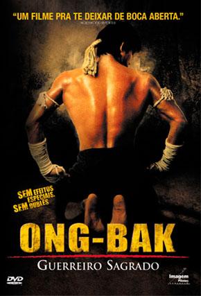 Capa do filme 'Ong-Bak - Guerreiro Sagrado'