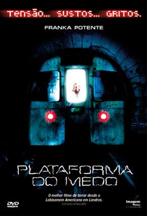 Capa do filme 'Plataforma do Medo'