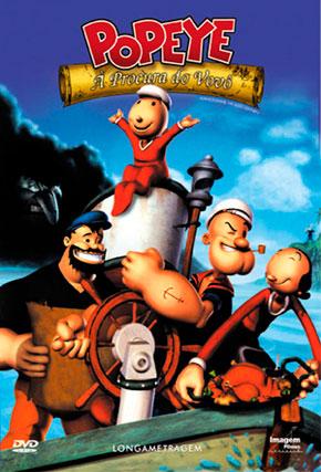 Capa do filme 'Popeye: À Procura do Vovô'