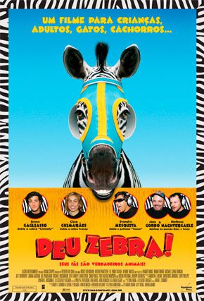 Capa do filme 'Deu Zebra!'