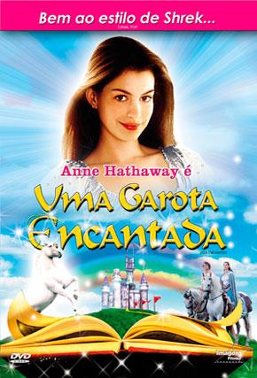 Capa do filme 'Uma Garota Encantada'