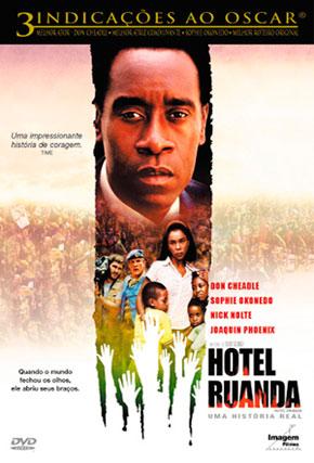 Capa do filme 'Hotel Ruanda'