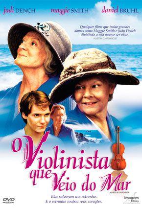 Capa do filme 'O Violinista que Veio do Mar'