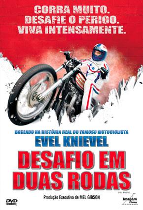 Capa do filme 'Evel Knievel - Desafio em Duas Rodas'