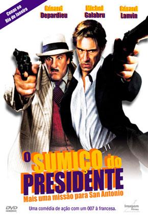 Capa do filme 'O Sumiço do Presidente'