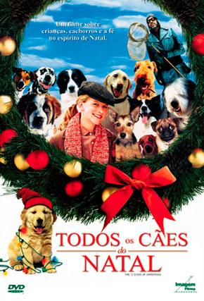 Capa do filme 'Todos os Cães do Natal'