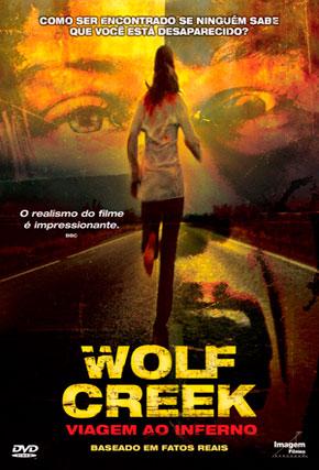Capa do filme 'Wolf Creek - Viagem ao Inferno'