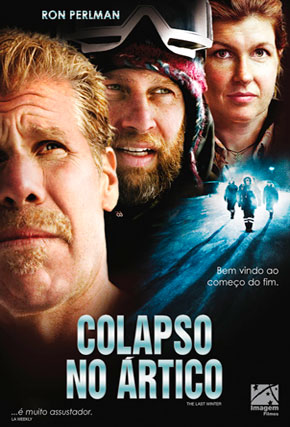Capa do filme 'Colapso no Ártico'