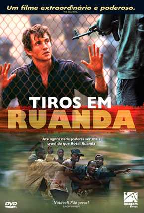 Capa do filme 'Tiros Em Ruanda'
