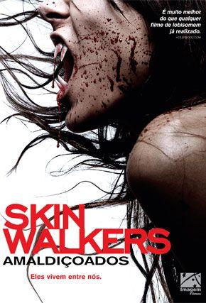 Capa do filme 'Skinwalkers - Amaldiçoados'