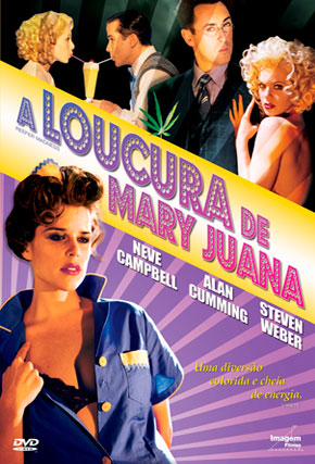 Capa do filme 'A Loucura de Mary Juana'