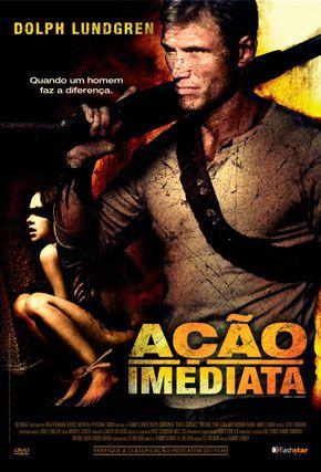 Capa do filme 'Ação Imediata'