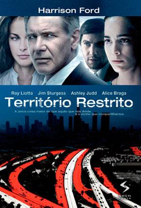 Capa do filme 'Território Restrito'