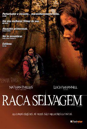 Capa do filme 'Raça Selvagem'