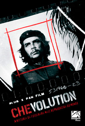 Capa do filme 'Chevolution - A história da fotografia mais reproduzida do mundo.'