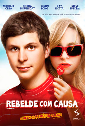 Capa do filme 'Rebelde com Causa'
