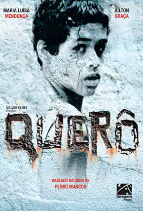 Capa do filme 'Querô'