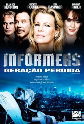 Capa do filme 'Informers - Geração Perdida'