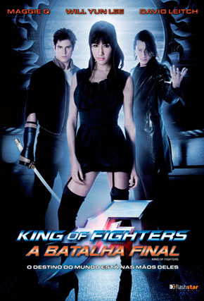 Capa do filme 'King of Fighters - A Batalha Final'