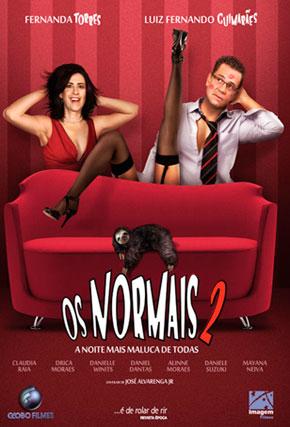 Capa do filme 'Os Normais 2'