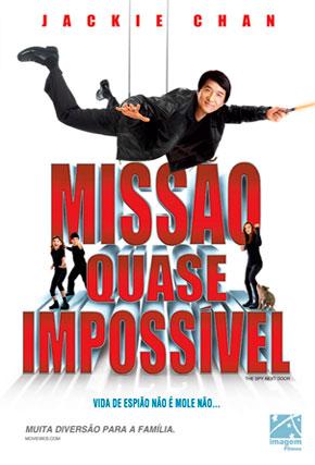 Capa do filme 'Missão Quase Impossível'