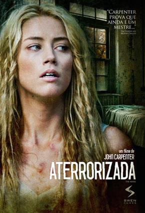 Capa do filme 'Aterrorizada'