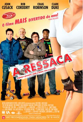 Capa do filme 'A Ressaca'
