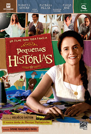 Capa do filme 'Pequenas Histórias'
